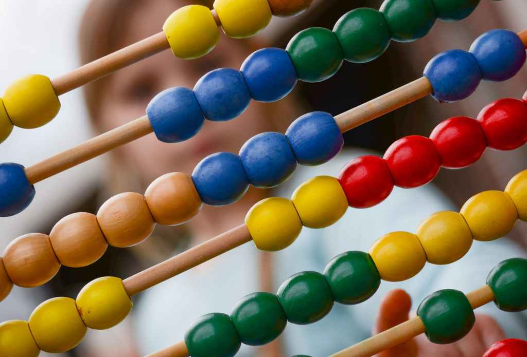 abacus is a good resource to promote fun counting to kids