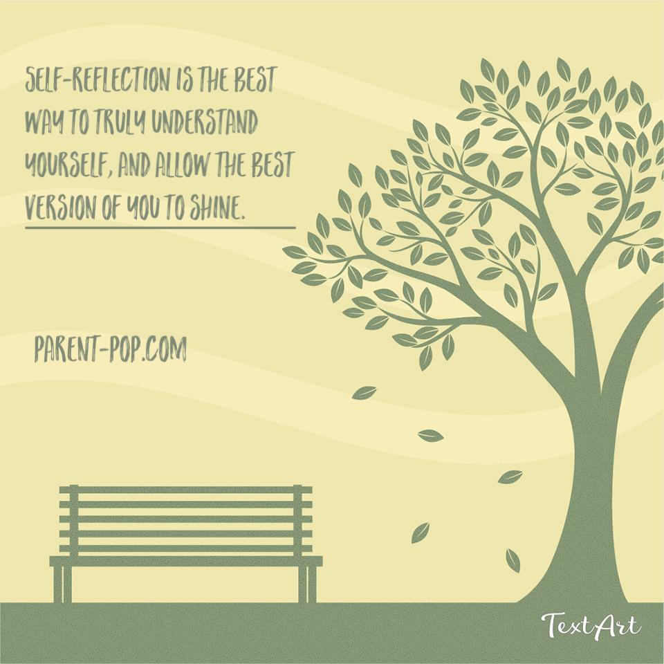 Self-reflective parenting