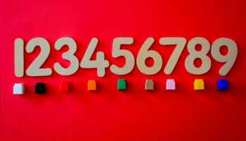 numbers and objects for counting
