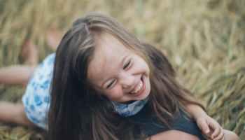 happy and confident child