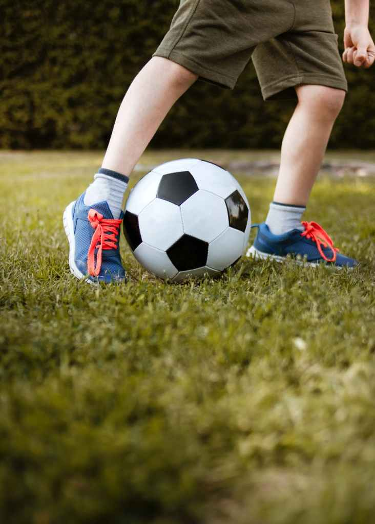 outdoor toys like a ball are a great gift for children